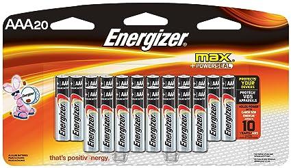 Triple Aaa Number >> Amazon Com Energizer Aaa Batteries Triple A Battery Max Alkaline