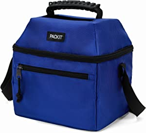 PackIt Freezable 9 Can Utility Cooler, Cobalt Blue