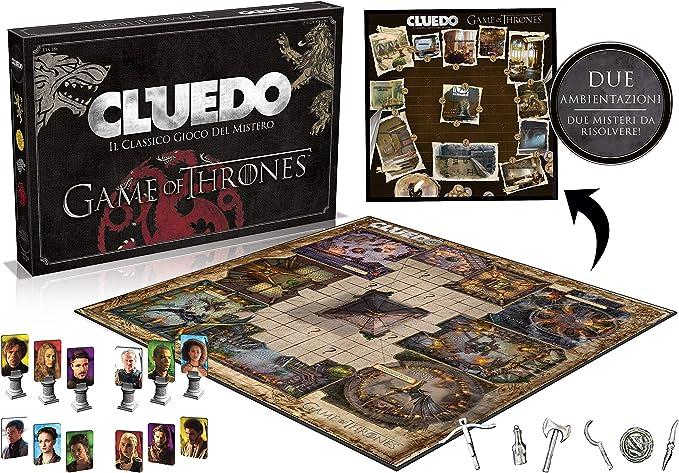Winning Moves wm027410 – Cluedo Game of Thrones , color/modelo surtido: Amazon.es: Juguetes y juegos