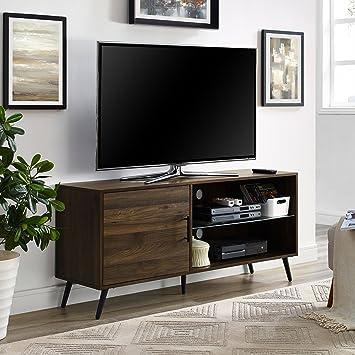 Amazon Com We Furniture Az52norgsdw Adjustable Tv Stand 52 Dark