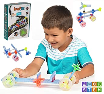 Brackitz Driver STEM Building Toy For Kids Ages 4 5 And 6 Year Olds