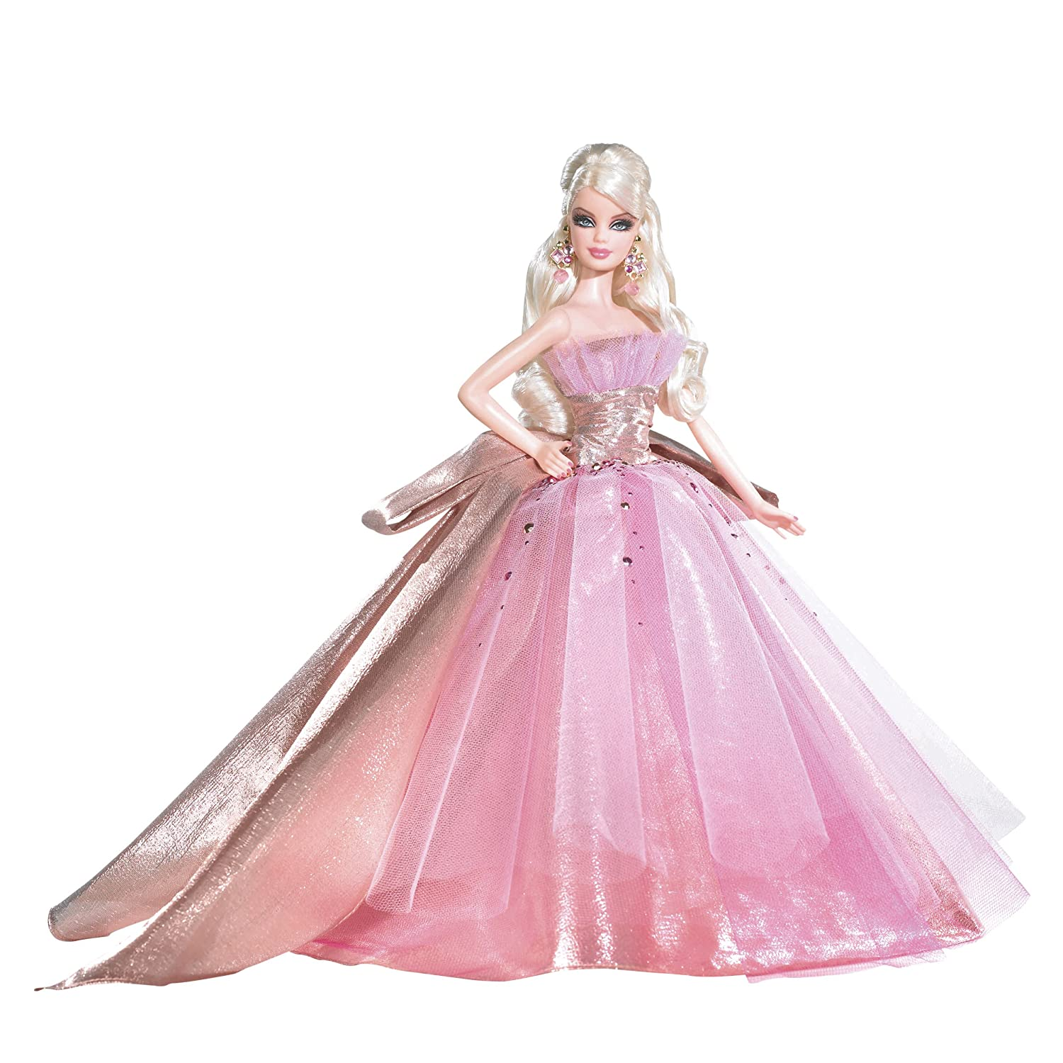 Amazon Barbie 2009 Holiday Doll Toys Games
