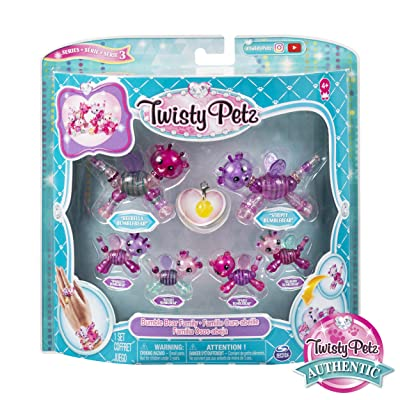Twisty Petz 6053524 Family 6 Pack, Multicolored: Toys & Games