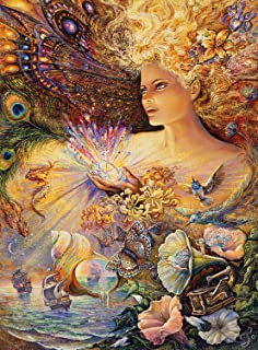 product image for Buffalo Games - Josephine Wall - Crystal of Enchantment (Glitter Edition) - 1000 Piece Jigsaw Puzzle