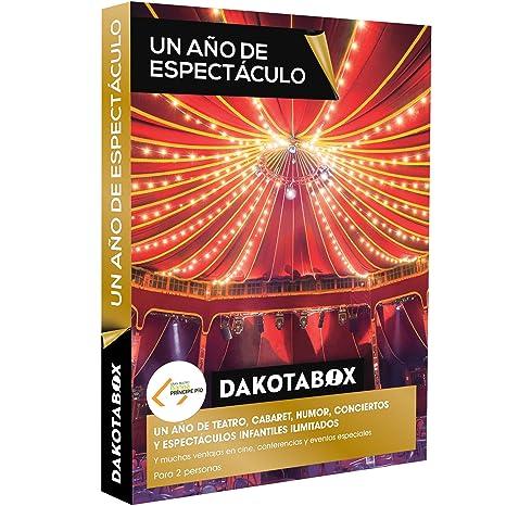 DAKOTABOX - Caja Regalo - UN AÑO DE ESPECTÁCULO - 1 año de ...