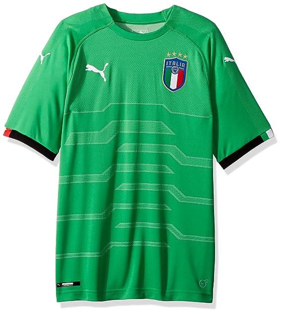 newest collection 1d955 989d3 PUMA Men's FIGC Italia Goalkeeper Shirt Replica