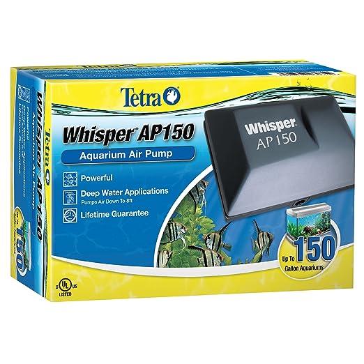amazoncom tetra 26075 whisper aquarium air pump ap150 up to 150 gallon fish air pump pet supplies - Tecap Color