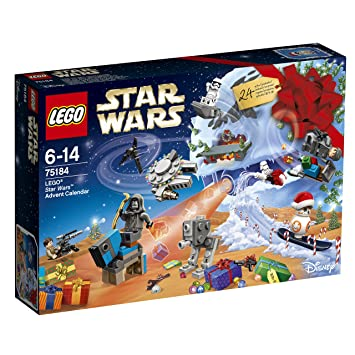 LEGO Star Wars The Last Jedi 75184 Advent Calendar Toy: LEGO: Amazon ...