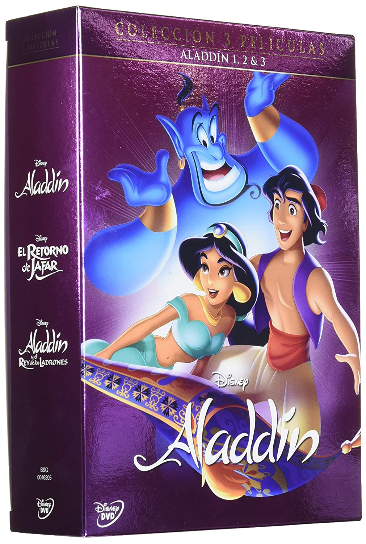 Pack Trilogia Clasicos Aladdin [DVD]: Amazon.es: Cine y Series TV
