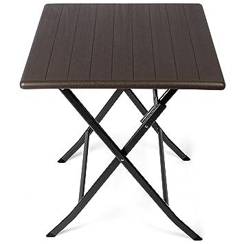 Park Alley - Table d\'appoint pour extérieur - Table de Jardin carrée ...