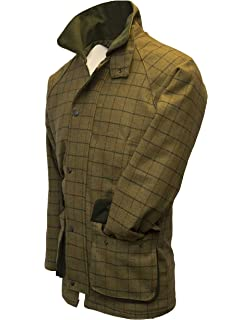 285ced71cdc770 Walker & Hawkes - Mens Derby Tweed Shooting Hunting Country Jacket - Beige  Tweed