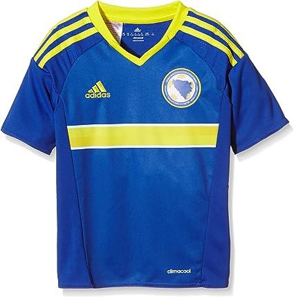 adidas Performance Boys Bosnia and Herzegovina 1516 Home Soccer Jersey