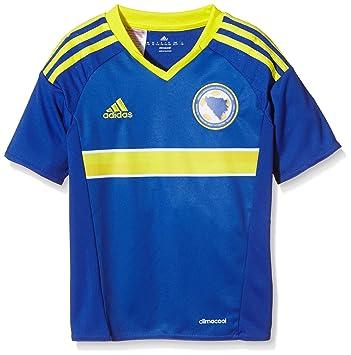 Adidas niño de Manga Corta Camiseta de Bosnia-Herzegovina Replica: Amazon.es: Deportes y aire libre