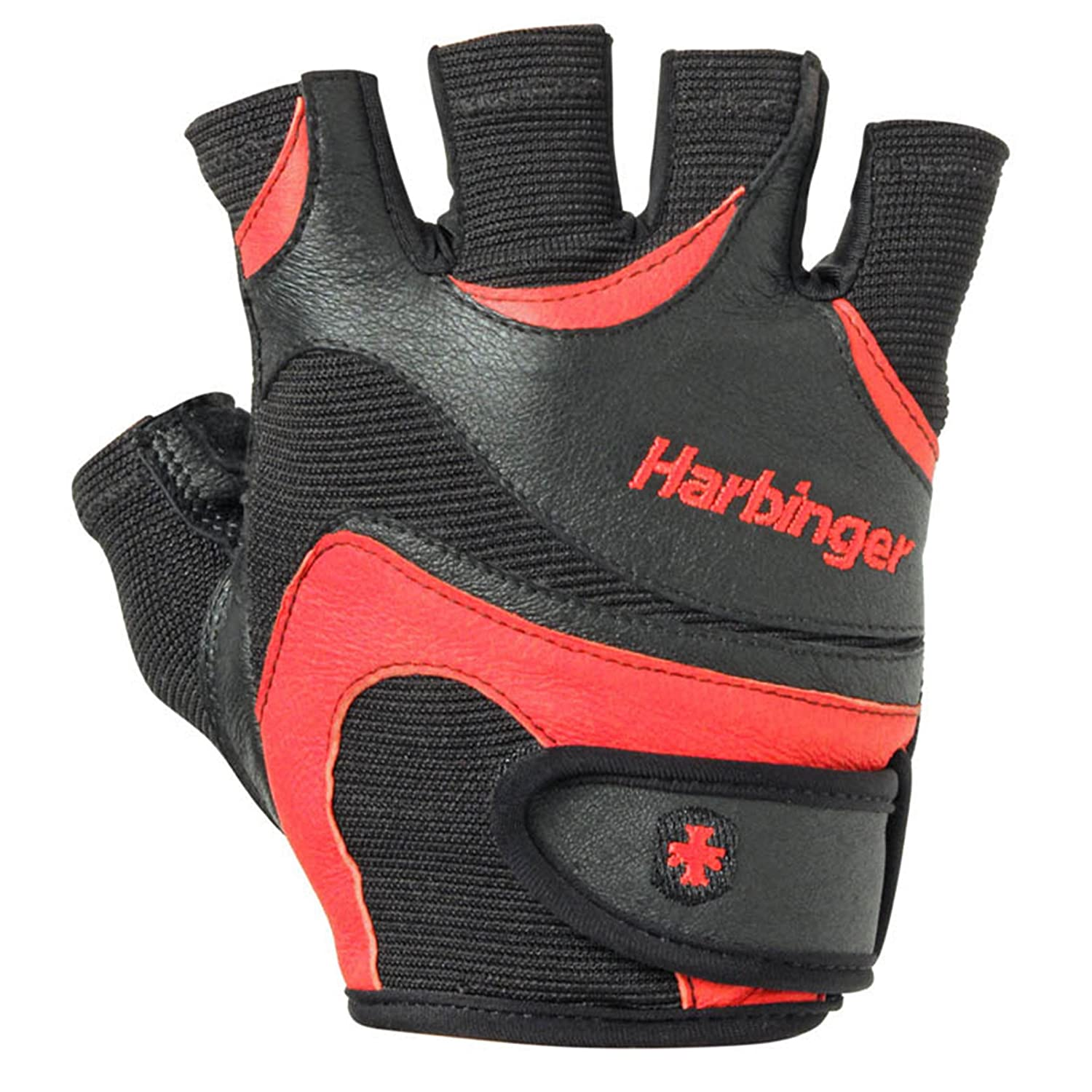 Mens leather gloves gq - Amazon Com Harbinger Men S Flexfit Weightlifting Gloves With Flexible Cushioned Leather Palm Pair Large Sports Outdoors