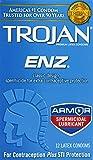 Trojan Condom ENZ Spermicidal, 12 Count