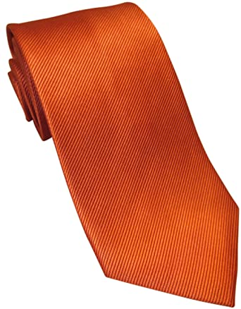 4b4dbbdef4ef Image Unavailable. Image not available for. Colour: Burnt Orange Tie