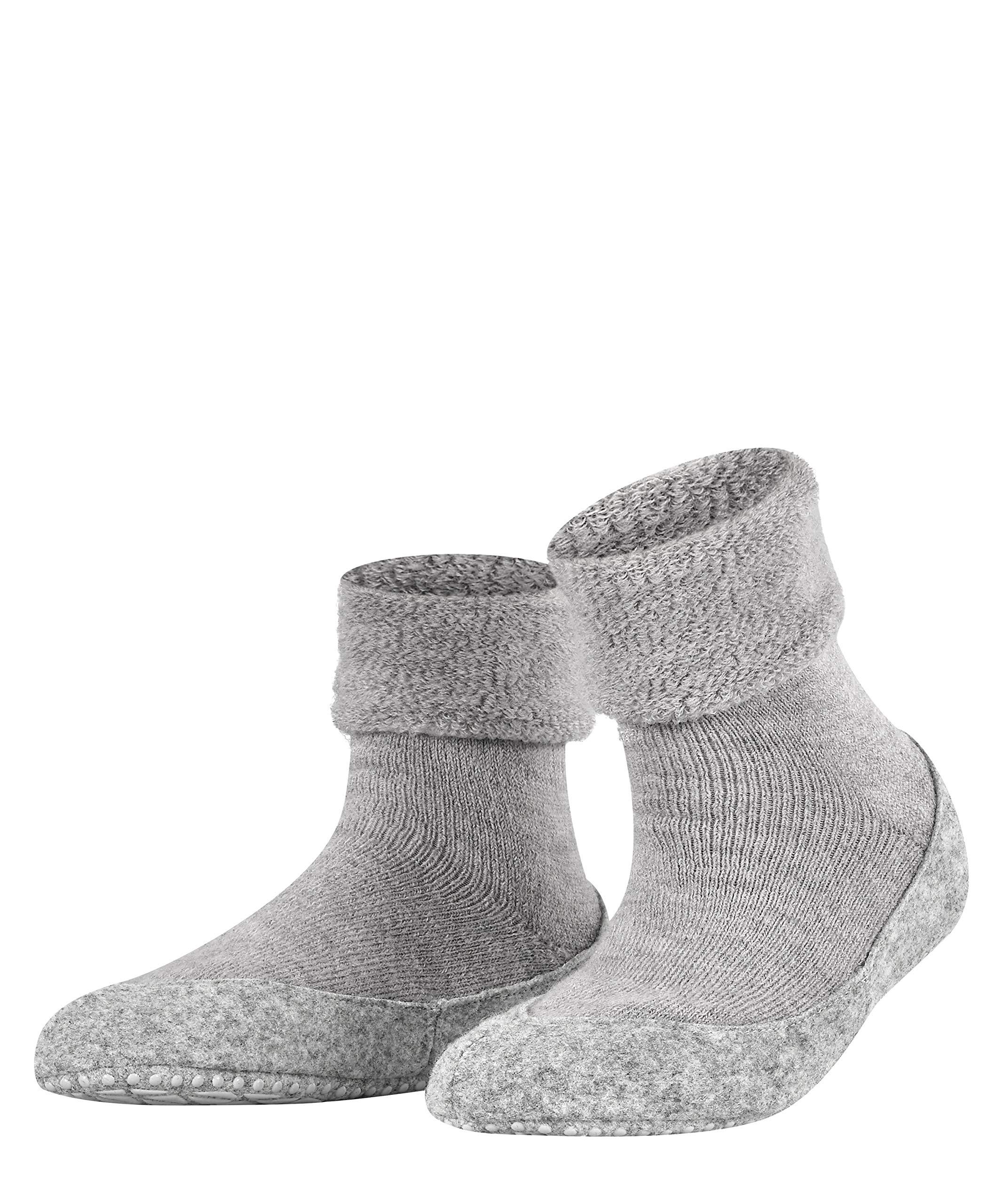 FALKE Casual Womens Cosyshoe Slipper Sock Merino Wool Grey Pink White 1 Pair