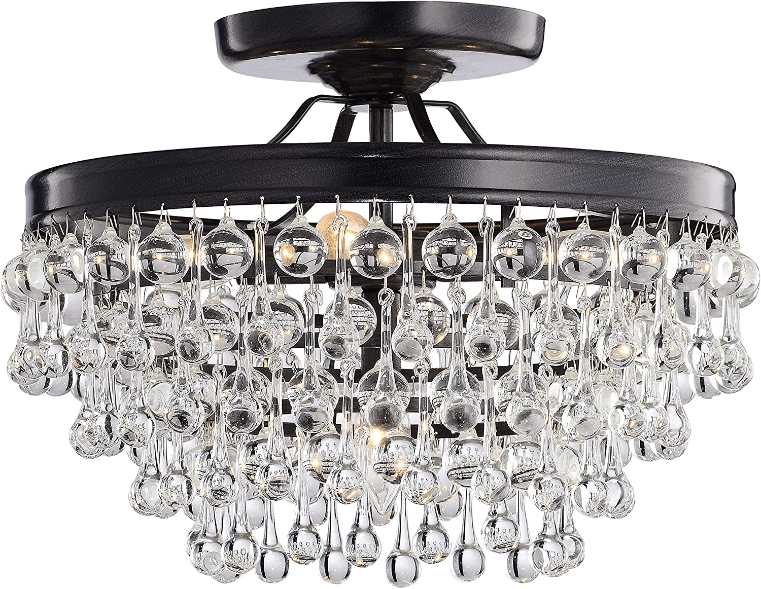 Ceiling Mount Glass Chandelier Ceiling Mount Glass