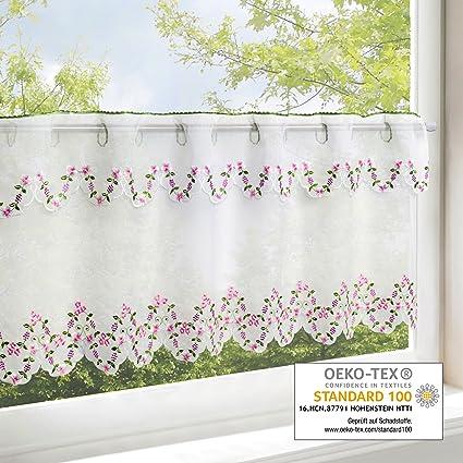 Tenda per finestre PRIMAVERA ROMANTICO, adatta a cucina, bagno e ...