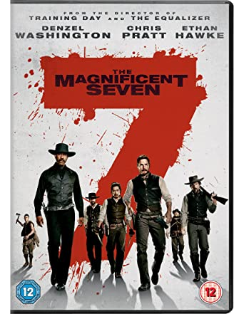 f0ec46fd59b1 The Magnificent Seven  DVD   2016   Amazon.co.uk  Denzel Washington ...