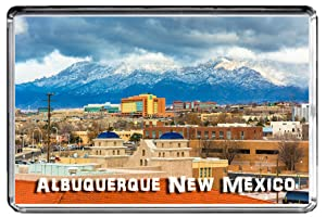 USA E412 Albuquerque New Mexico Fridge Magnet Travel Photo Refrigerator Magnet