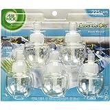 Air Wick Scented Oil 5 Refills, Fresh Waters, (5X0.67oz), Air Freshener