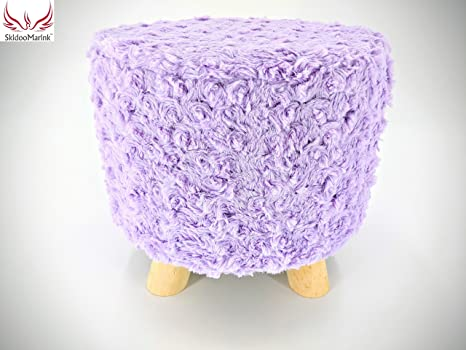 Wondrous Skidoomarink Small Round Ottoman Foot Rest Vanity Stool Gmtry Best Dining Table And Chair Ideas Images Gmtryco