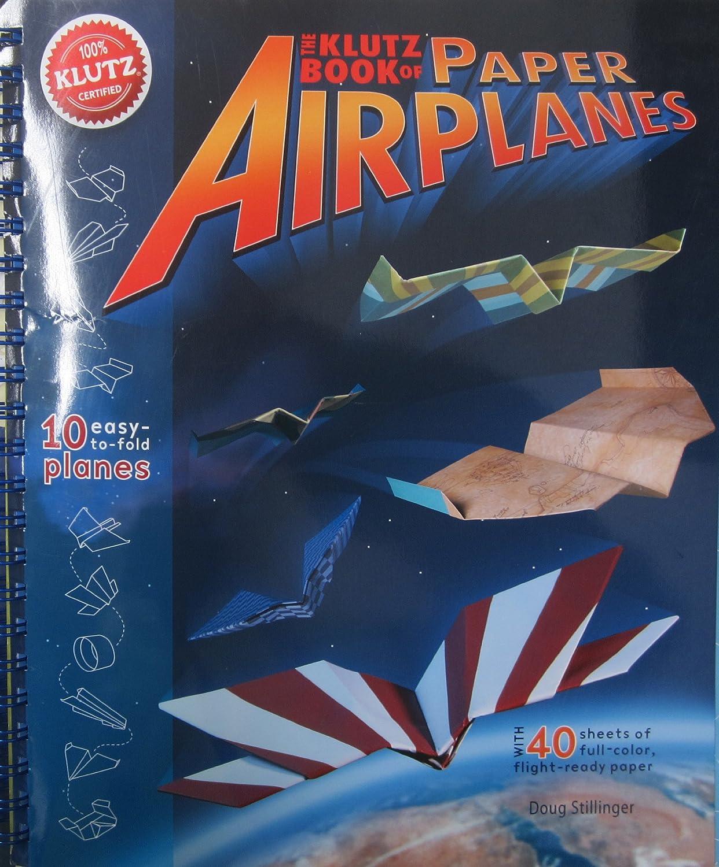 amazon com klutz book of paper airplanes craft kit doug