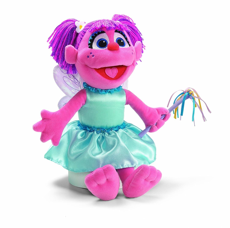 amazon com gund fluttering fairy abby cadabby toys u0026 games
