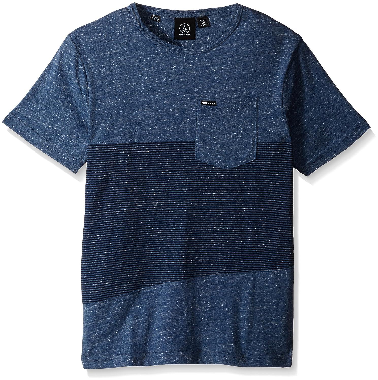 Volcom Threezy Crew - T-shirt da uomo A0111604