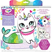 Crayola Creations Sticker by Number Set, Design Colourful Posters, Includes Stickers, Great for Creative Kids!