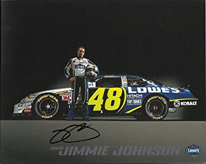 Jimmie Johnson Signed Photograph - 2006 Lowes Kobalt Tools
