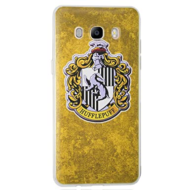 Amazon.com: Galaxy J5 2016 Harry Potter Houses Silicone ...