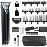 Wahl Clipper Stainless Steel Lithium Ion Plus Beard Trimmer Kit