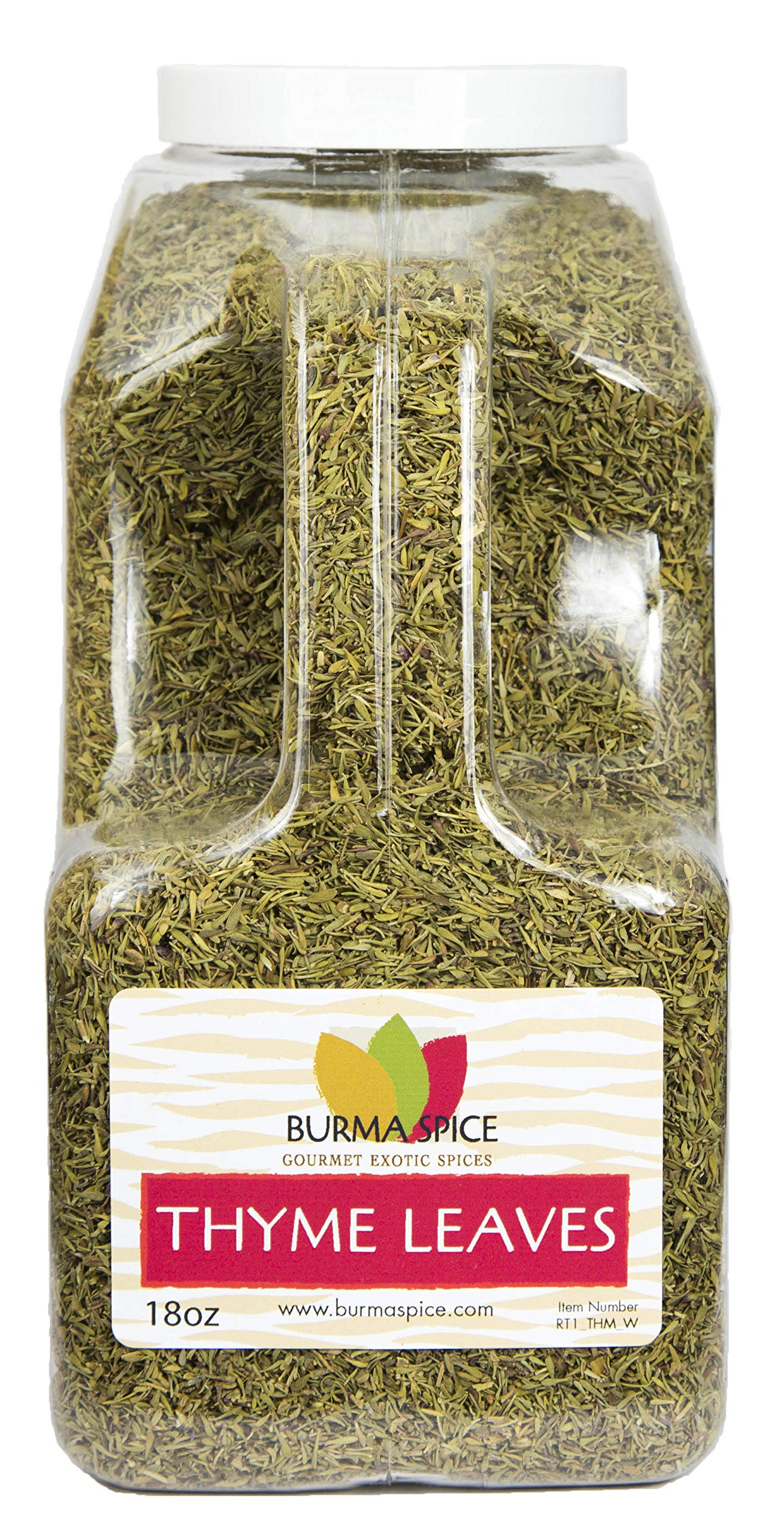 Thyme Leaves : Dried Herb, Spice, Seasoning : Kosher (18oz.)