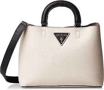 GUESS Womens Girlfriend Satchel Bag, Stone Multi - VG743906