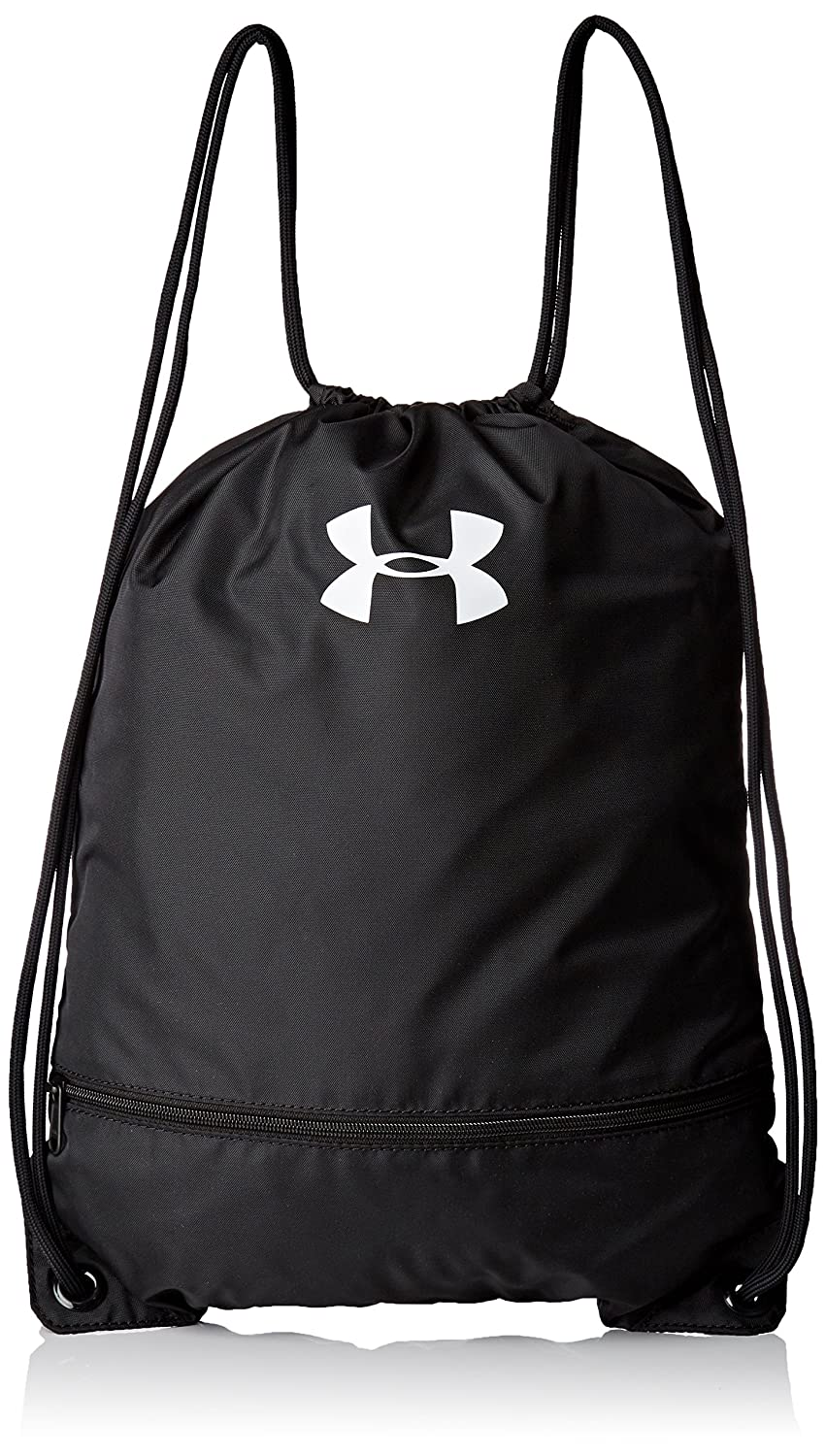 Under Armour Team Sackpack Bag,Black (001)/White, One Size Under Armour Bags 1301210