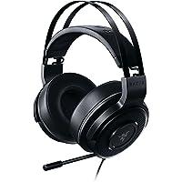 Razer Thresher Tournament Edition: Boom retráctil - Conexión de audio de 3,5 mm - Cojines para el oído de cuero sintético livianos - Audifonos Gamer