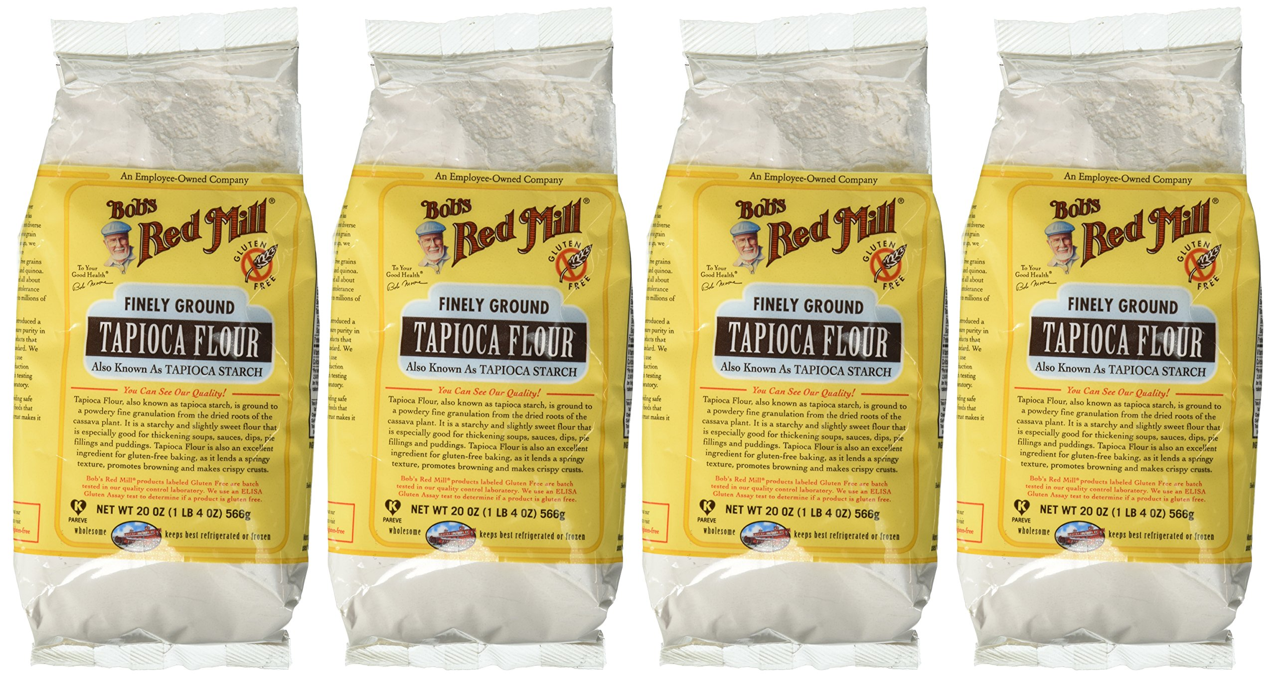 Bob's Red Mill Tapioca Flour Gluten Free (4x20 Oz) by Bob's Red Mill