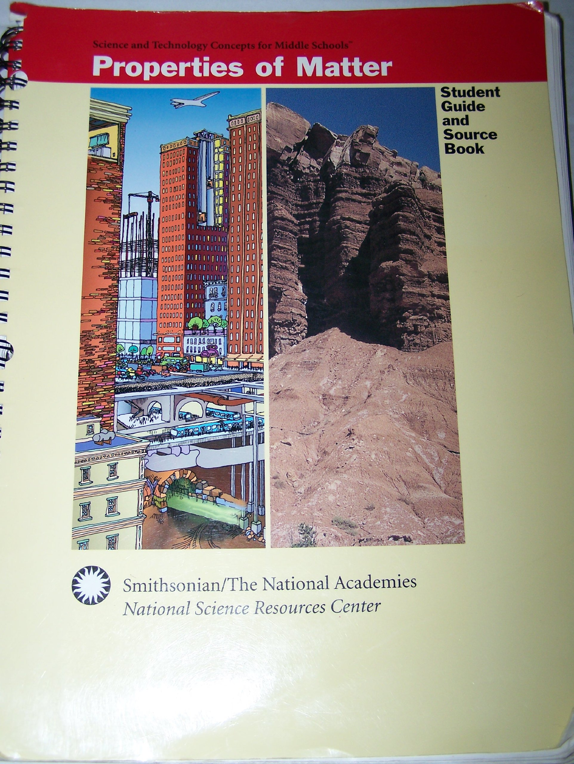 Download Properties of Matter: Student Guide and Source Book (Science and Technology Concepts for Middle Schools) pdf epub