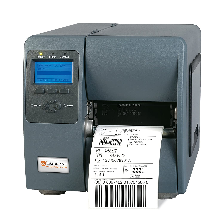 64 MB Graphic Memory Datamax KD2-00-08000Y07 M-4206 M-Class Printer 4 Direct Thermal 3 Media Hub Internal LAN Card SER//PAR//USB Power Cord 6 IPS 203 DPI