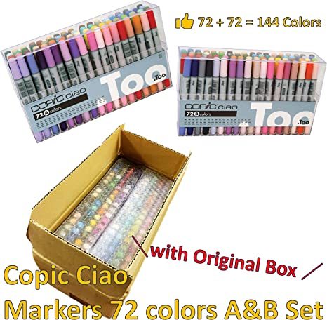 Copic Marker Various Ink Refill For Sketch /& Ciao-mimosa Yellow Markers