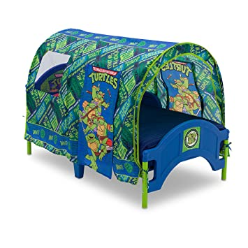 Delta Children Toddler Tent Bed Nickelodeon Teenage Mutant Ninja Turtles  sc 1 st  Amazon.com : minnie mouse tent bed - memphite.com