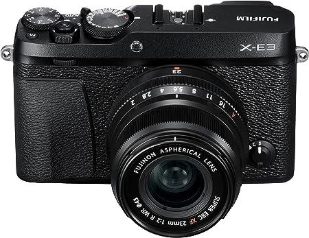 Fujifilm X-E3 w/XF23mmF2 R WR Lens Kit - Black product image 6