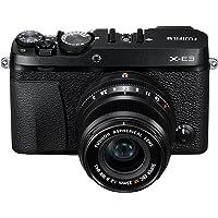Fujifilm X-E3 Mirrorless Digital Camera with XF 23mm f/2 R WR Lens Kit - Black