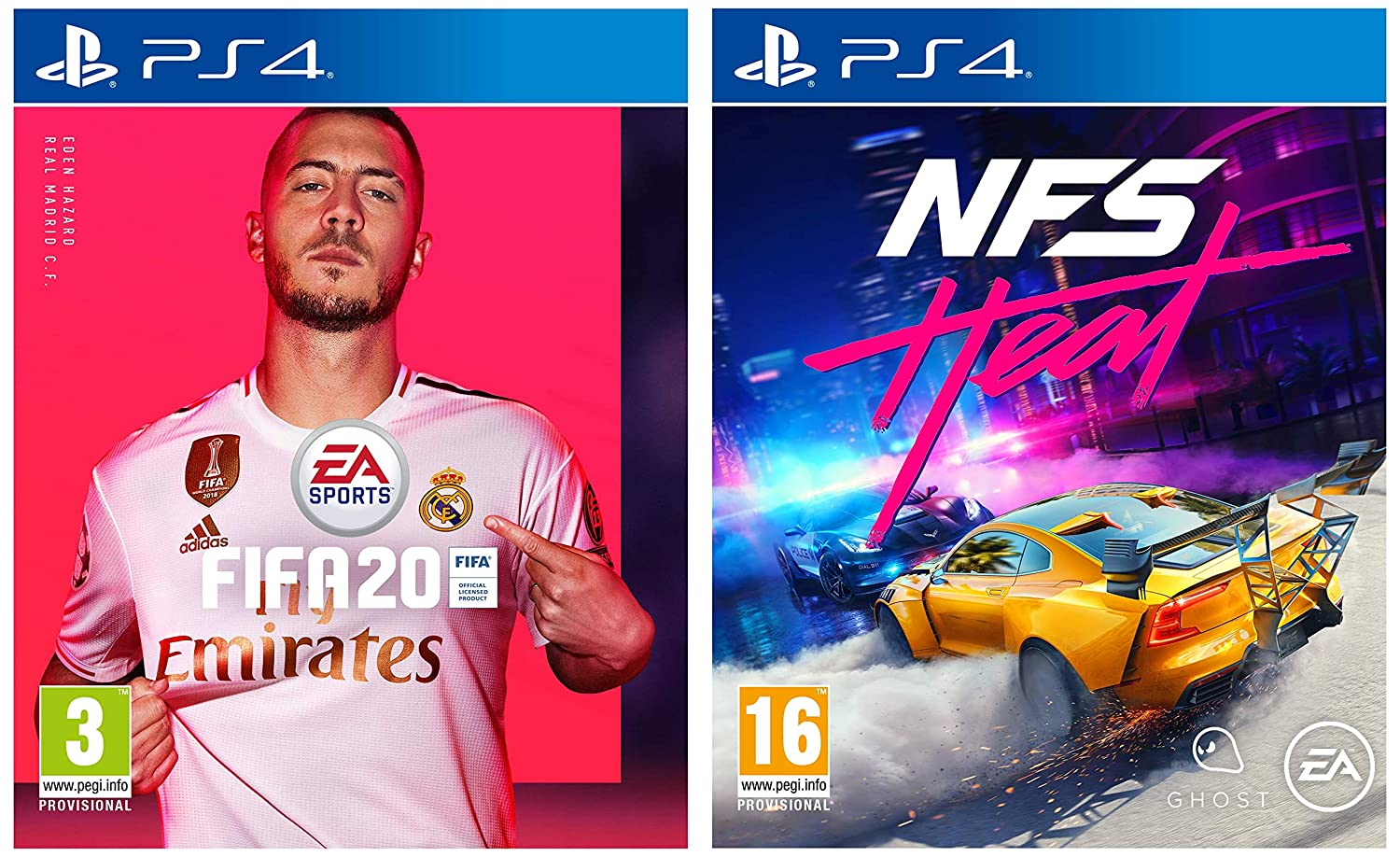 Fifa 20 Need For Speed Heat Ps4 Amazon In Video Games