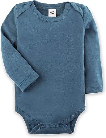 Colored Organics Unisex Baby Organic Cotton Bodysuit Long Sleeve Infant Onesie