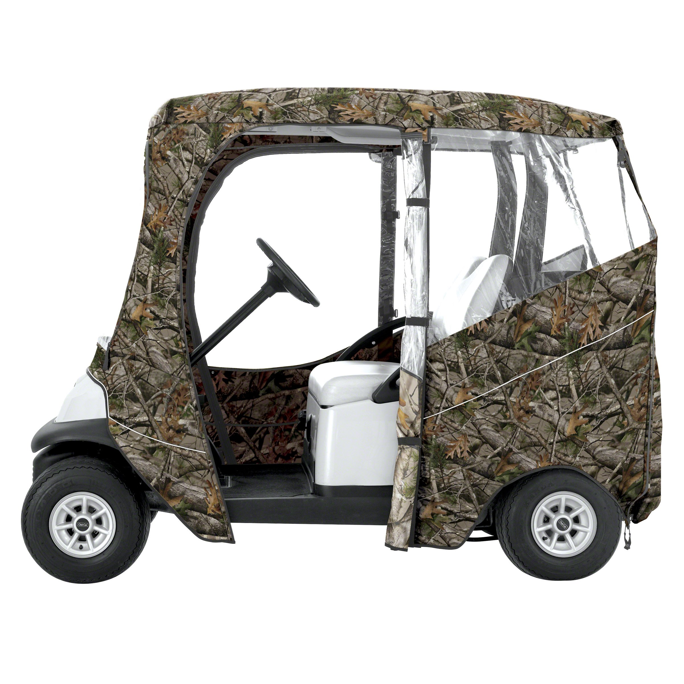 Classic Accessories Fairway Golf Cart Deluxe Enclosure, Camo by Classic Accessories (Image #3)