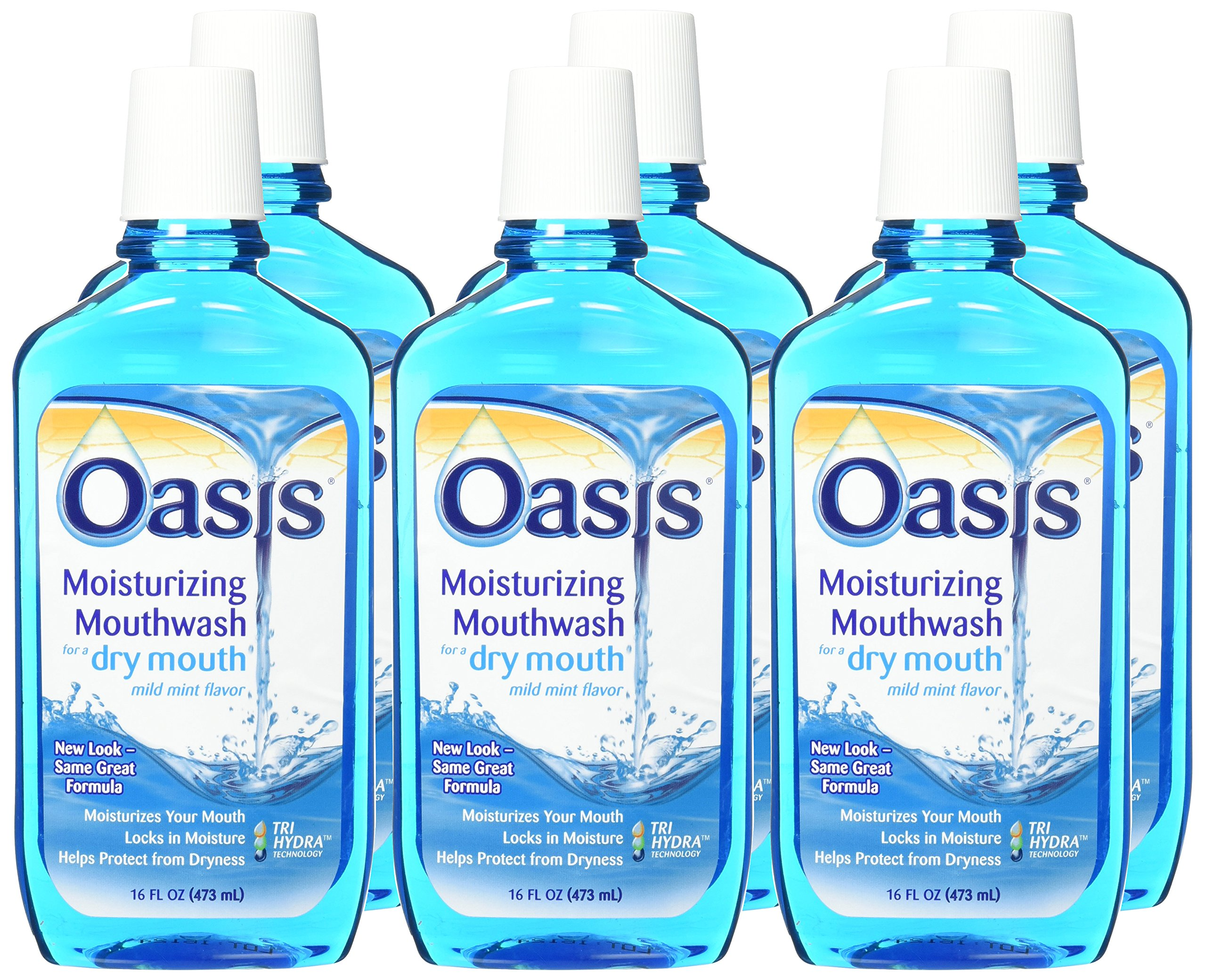 Oasis Mouthwash 16 oz. 6 Pack by Oasis (Image #2)