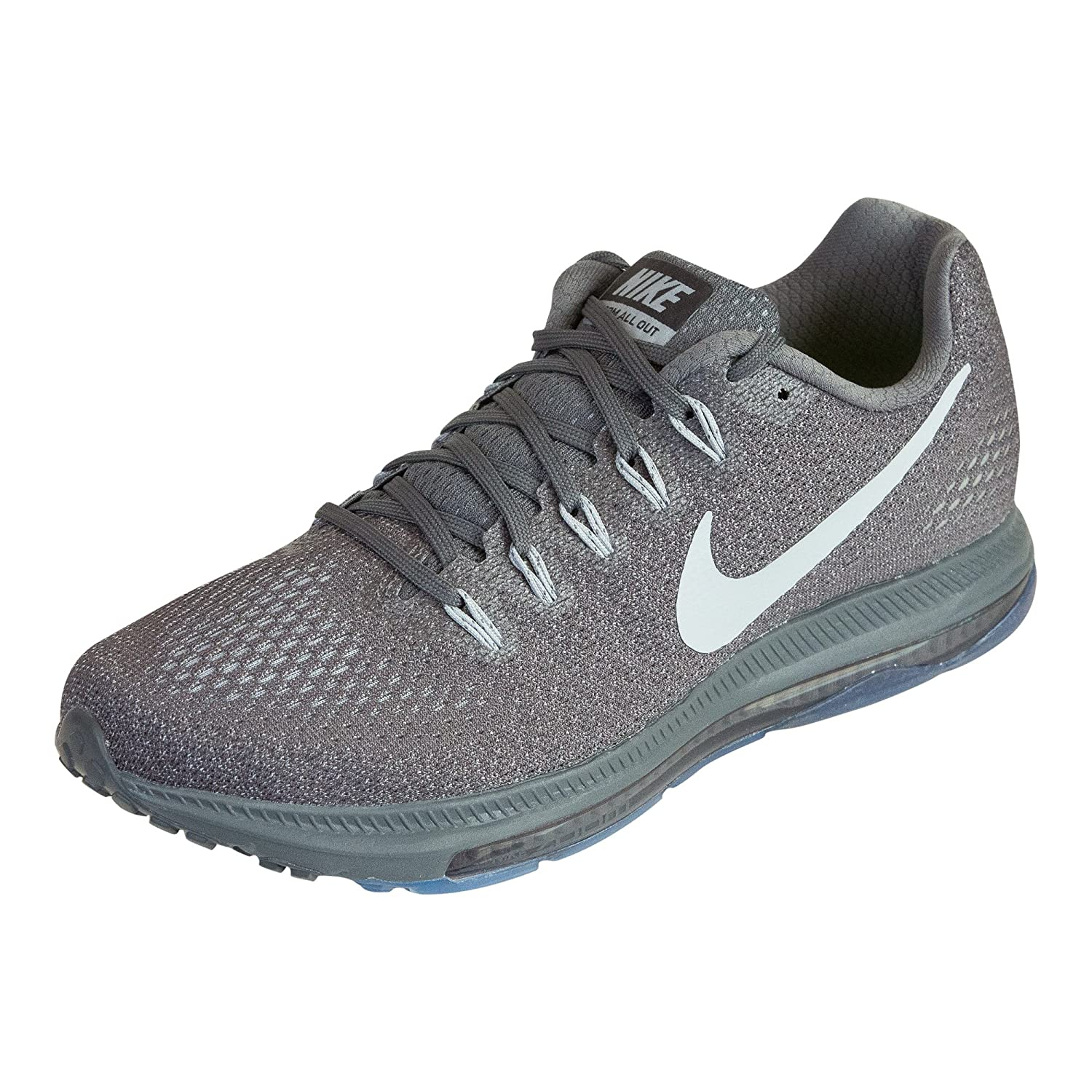 NIKE Zoom All Out Low Men's Running Sneaker B00EEV2ZMC 13 D(M) US|Dark Grey/Wolf Grey-pure Platinum